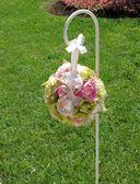 Düğün Çiçek dekorasyonu — Stok fotoğraf
