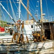 Stock Photo: Old fishing boats fleete