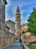 Vodnjan - hihgest bell tower in Istria — Stock Photo