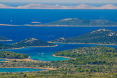 Kornati national park paradise archipelago — Stock Photo