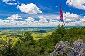 Kalnik mountain view from top — Stock Photo
