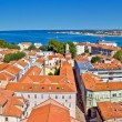 Town of Zadar panoramic view — Stock Photo