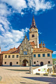 Marija Bistrica - croatian marianic shrine cathedral — Stock Photo