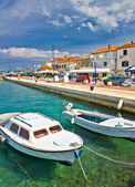 Adriatic town of Biograd na moru waterfront — Stock Photo