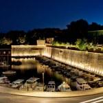 les murs de la ville de zadar — Photo