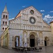 Stock Photo: Cathedral of Zadar, Calle larga, Dalmatia