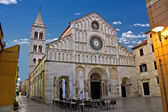 Cathedral of Zadar, Calle larga, Dalmatia — Stock Photo