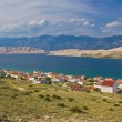Island of Pag bay seascapes — Stock Photo