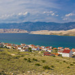 Stock Photo: Island of Pag bay seascapes