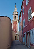 Old narrow street in Zadar — Stock Photo