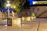 Zadar meydanda beş wells — Stok fotoğraf