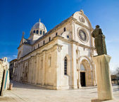 De kathedraal van st james in sibenik — Stockfoto