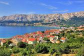 Città di baska natura e architettura — Foto Stock