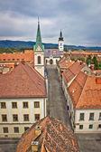 Historic upper town in Zagreb — Stock Photo