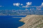 Velebit mountain and stone desert — Stock Photo