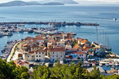 Dalmatian town of Tribunj, Vodice aerial view — Stock Photo
