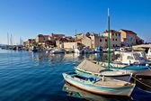 Adriatic town of Tribunj waterfront — Stock Photo