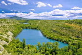 Krka river national park - Brljan lake — Stock Photo