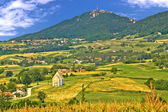 Kalnik mountain green hills scenery — Stock Photo