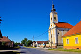 Village de hlebine dans podravina — Photo