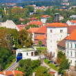 Stock Photo: Zagreb upper town cable car