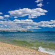 City of Zadar beach view — Stock Photo