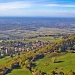 Green nature in region of Prigorje — Stock Photo