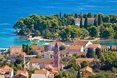 Beautiful coast of Croatia - Ugljan — Stock Photo