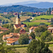 Village of Miholec in Croatia — Stock Photo
