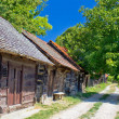 Historic cottages road in Croatia — Stock Photo #34770547
