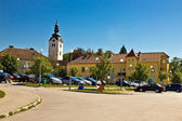 Town of Vrbovec in Croatia — Stock Photo