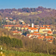 Varazdinske Toplice - thermal springs town — Stock Photo
