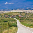 Village Gorica, Island of Pag — Stock Photo