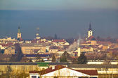 Town of Bjelovar winter skyline — Stock Photo