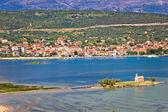 Coastal town of Posedarje, Croatia — Stock Photo