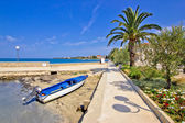 Idyllic Dalmatian village of Pertcane — Stockfoto