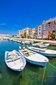 Summer view of Pag town — Foto Stock