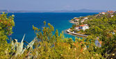 Croatian island Iz panoramic view — Foto de Stock