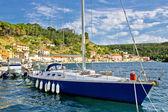Novigrad Dalmatinski bay sailing harbor — Stock Photo
