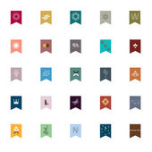 Emblemen en elementen voor het ontwerp — Stockvector