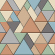 Retro origami background — Imagen vectorial