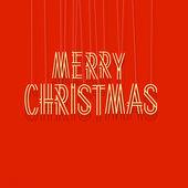 快乐圣诞刻字 — 图库矢量图片