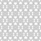 Islamic delicate pattern. Seamless vector — Stock Vector