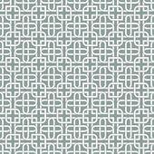 Monochromatic arabic pattern — Stock Vector