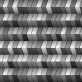 Monochromatic geometric structure — Stock Vector