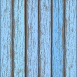 Light-blue old wooden fence — Stock Vector #14522107