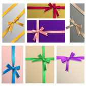 Vector set of various gifts wrapping — Vetorial Stock