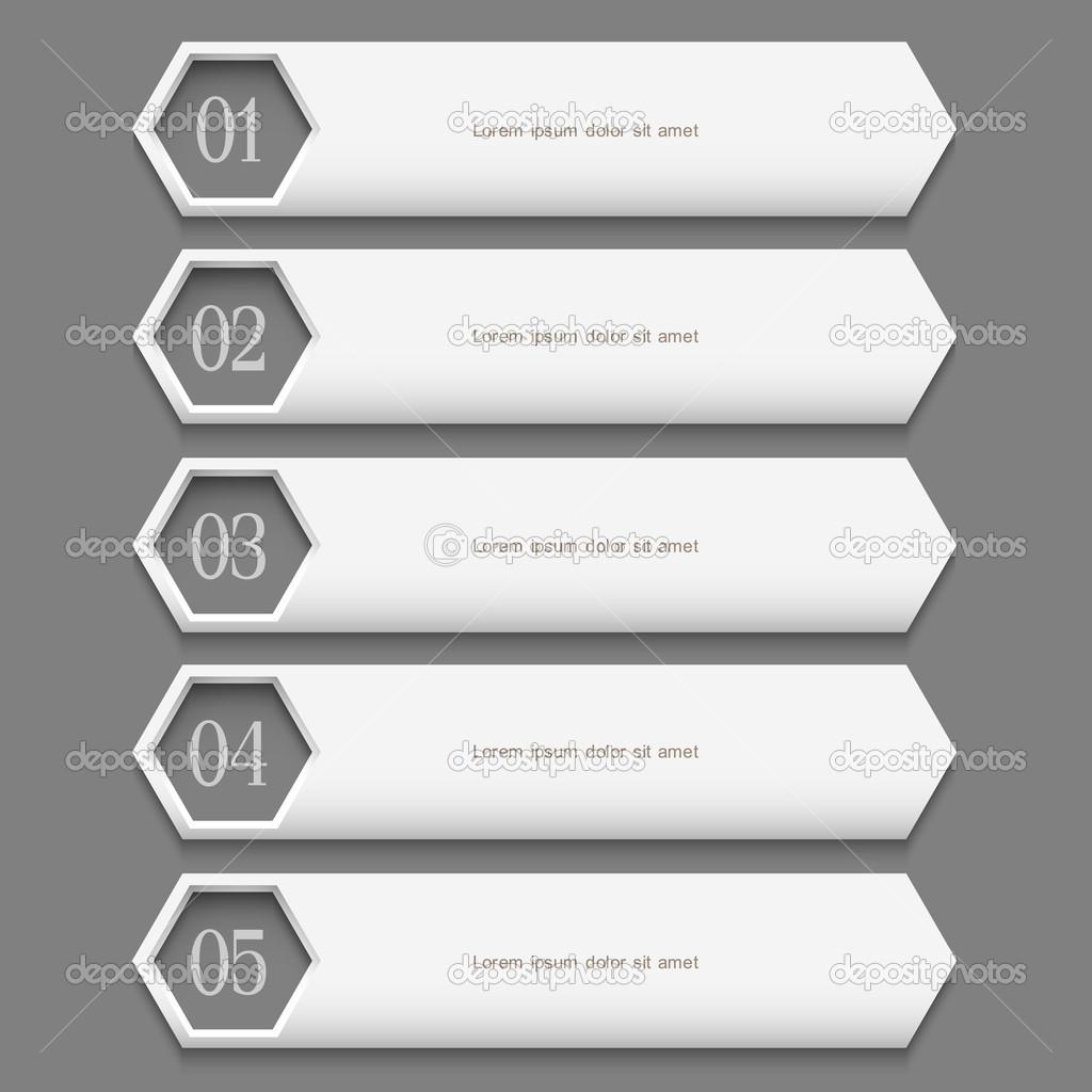 创意数字标签设计矢量素材-3; 数字标签设计矢量素材;; 矢量白色数字