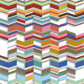 Retro abstract geometric background — Stock Vector