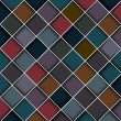 Multicolored structure of squares — Vettoriali Stock